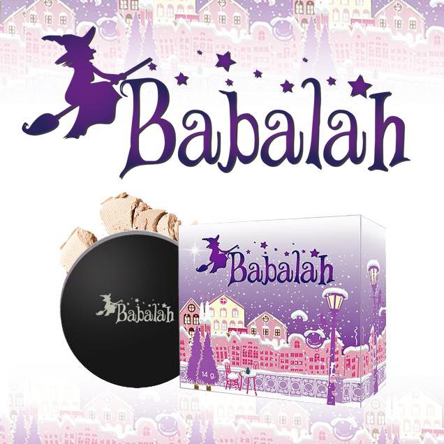 รูปภาพที่1 ของสินค้า : Babalah  Cake 2 Way 14 g. แป้งพัฟบาบาร่า แป้งพัฟหน้าเด็ก (ตลับจริง)  แป้งพัฟหน้าเด็ก (ตลับจริง)  แป้งเค้กทูเวย์ กันเหงื่อ กันน้ำ บางเบา ปิดรอยได้เยี่ยม