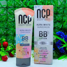 NCP BB Aura White Sunscreen BB Lotion SPF50 PA+++